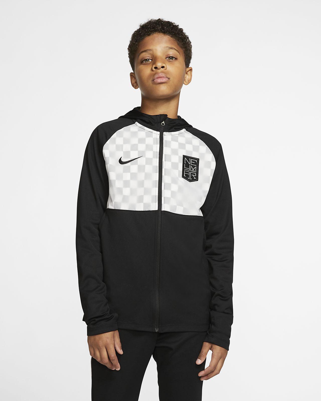 Nike Dri-FIT Neymar Jr. Genç Çocuk Futbol Ceketi