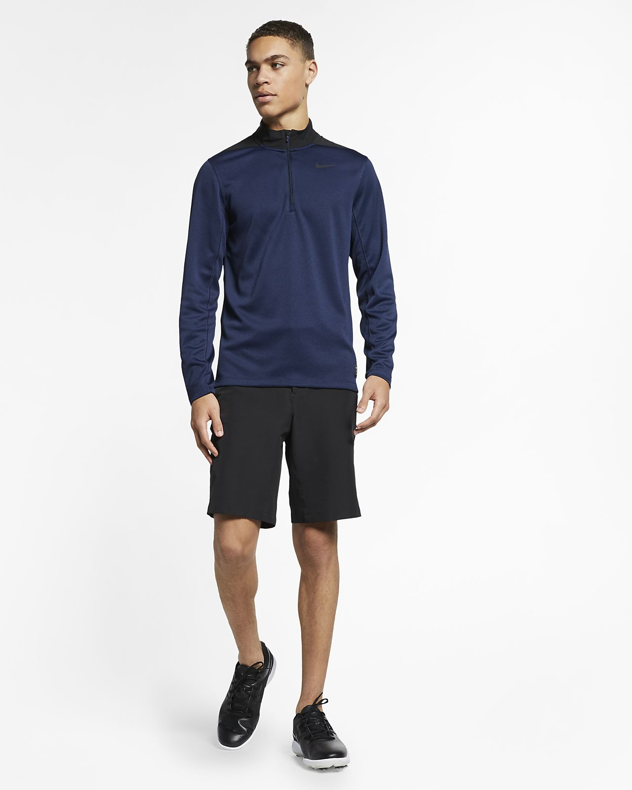 Nike Herren Dri-Fit Victory Poloshirt Black//Anthracite//Cool Grey L