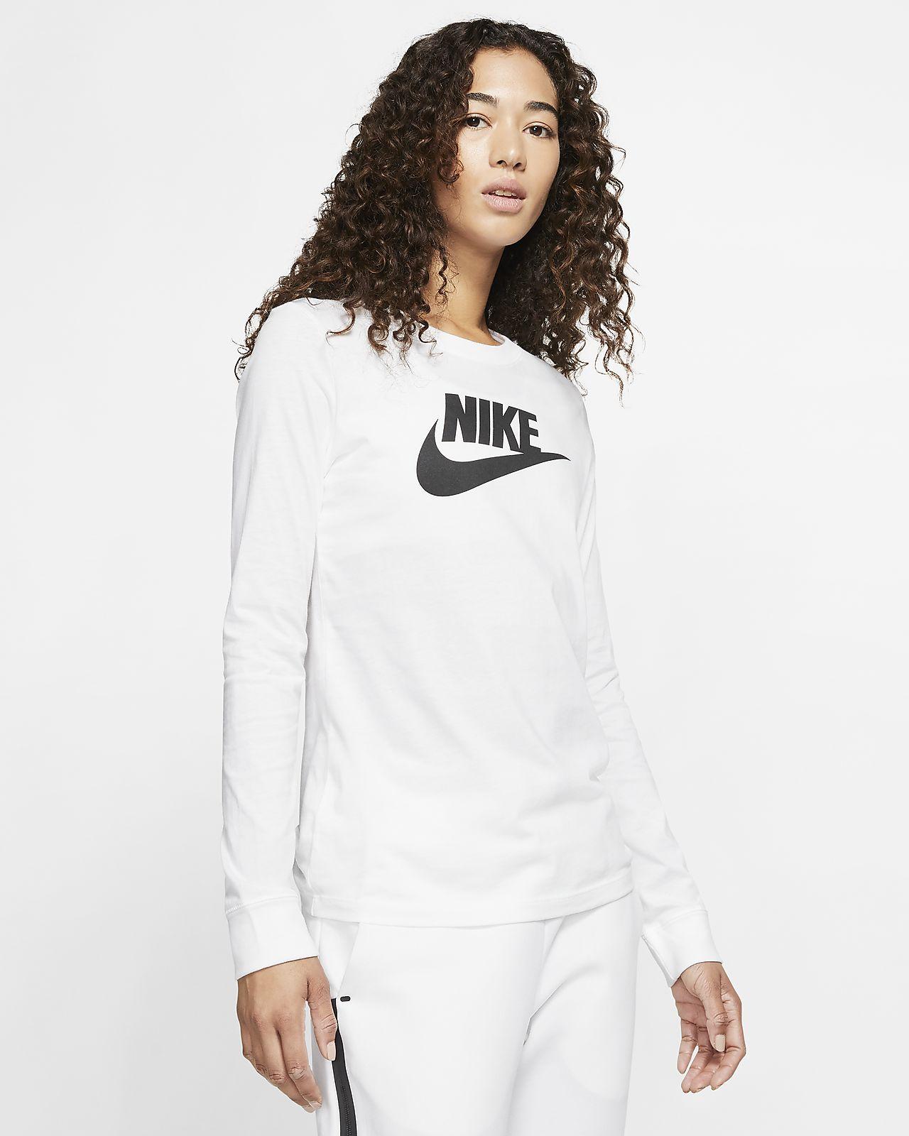 Nike Sportswear Women's Long Sleeve T Shirt Pink | BV6171