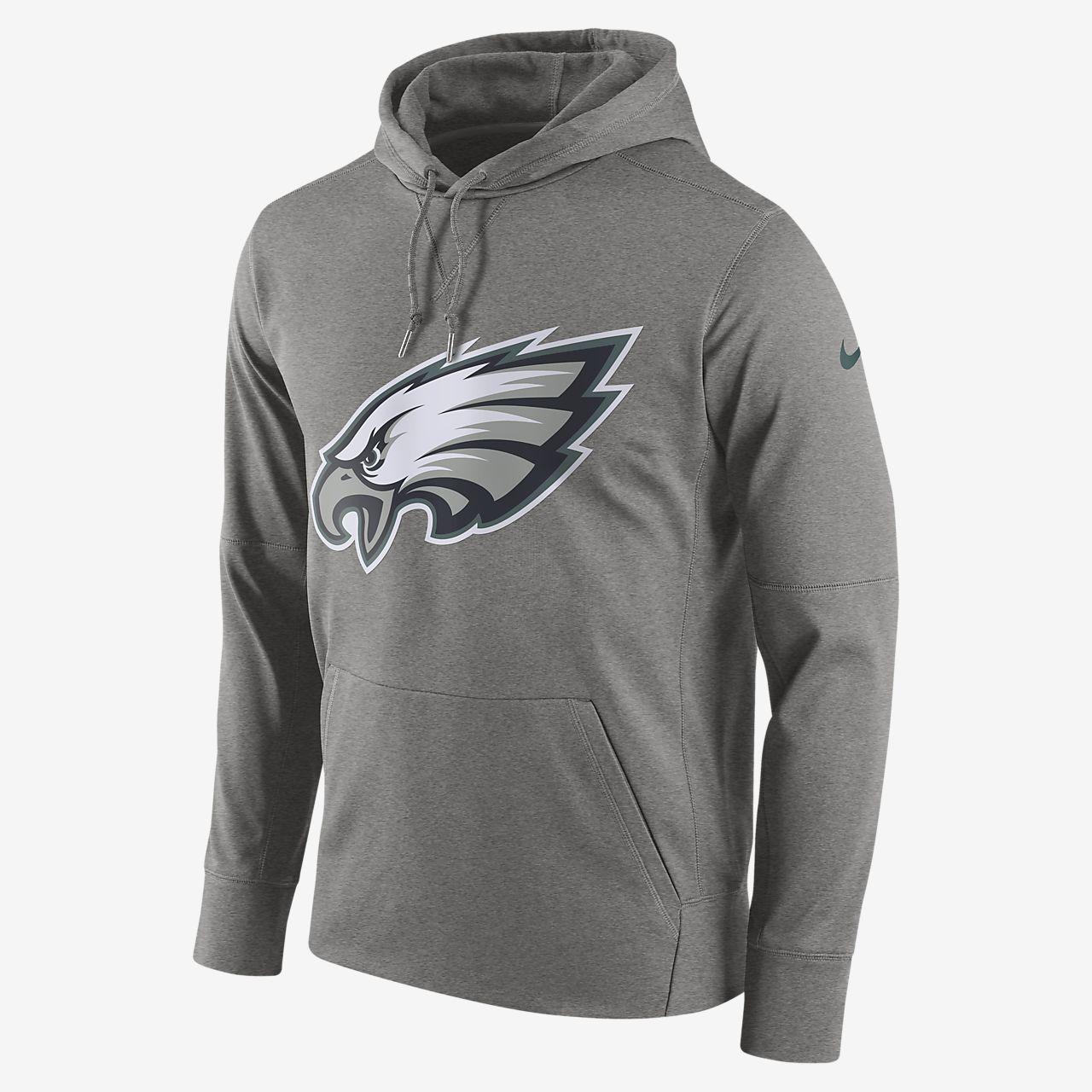 Nike Circuit Logo Essential (NFL Eagles) kapucnis, belebújós férfipulóver