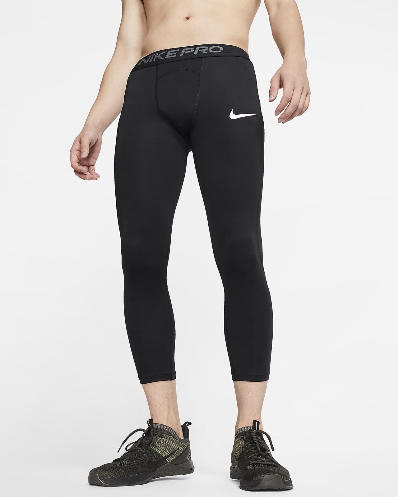 Tights a 3/4 Nike Pro - Uomo