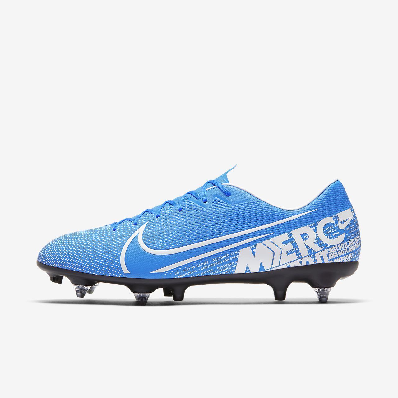 Nike Mercurial Vapor 13 Academy SG PRO Anti Clog Traction Voetbalschoen (zachte ondergrond)