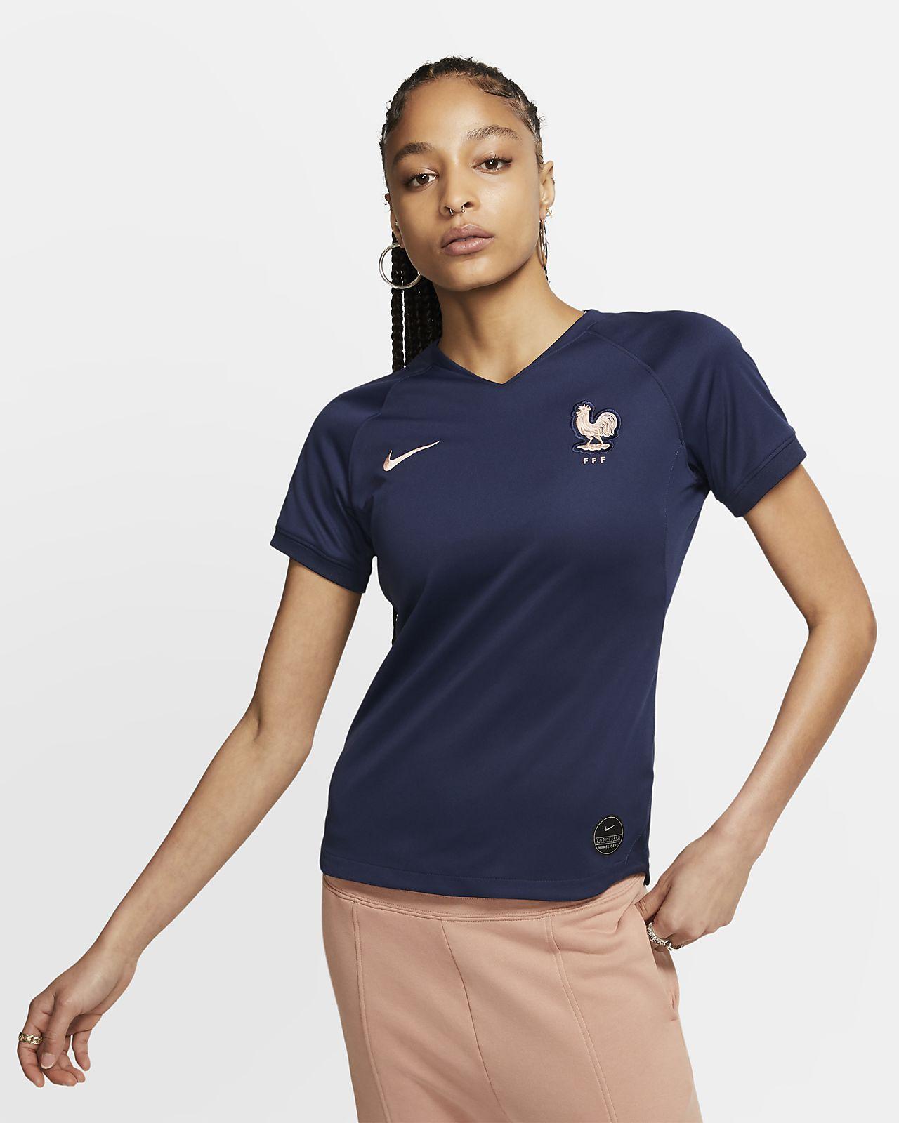 FFF 2019 Stadium Home Camiseta de fútbol - Mujer
