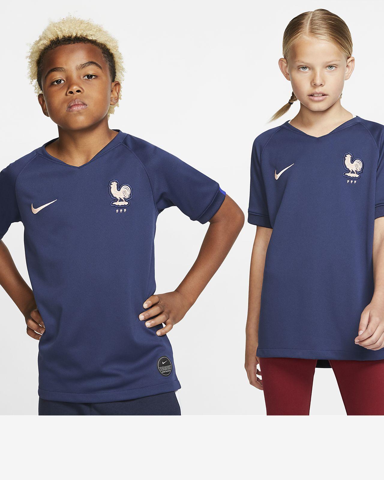 FFF 2019 Stadium Home Voetbalshirt voor kids