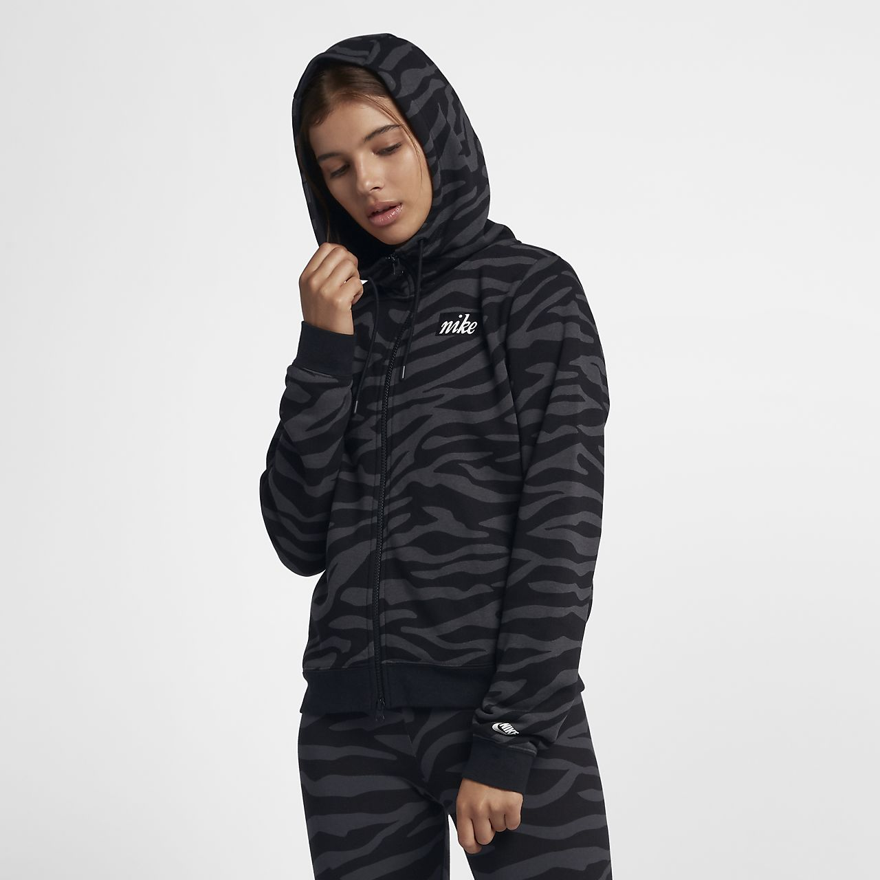 Nike Sportswear Women's Full-Zip Animal Hoodie