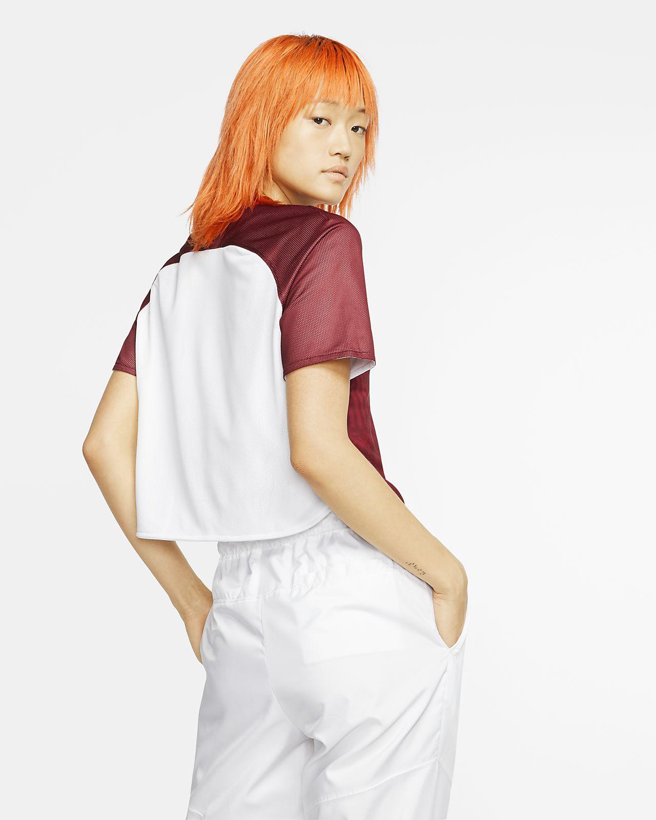 Crop top à manches courtes Nike Sportswear Dri FIT Unité Totale pour Femme