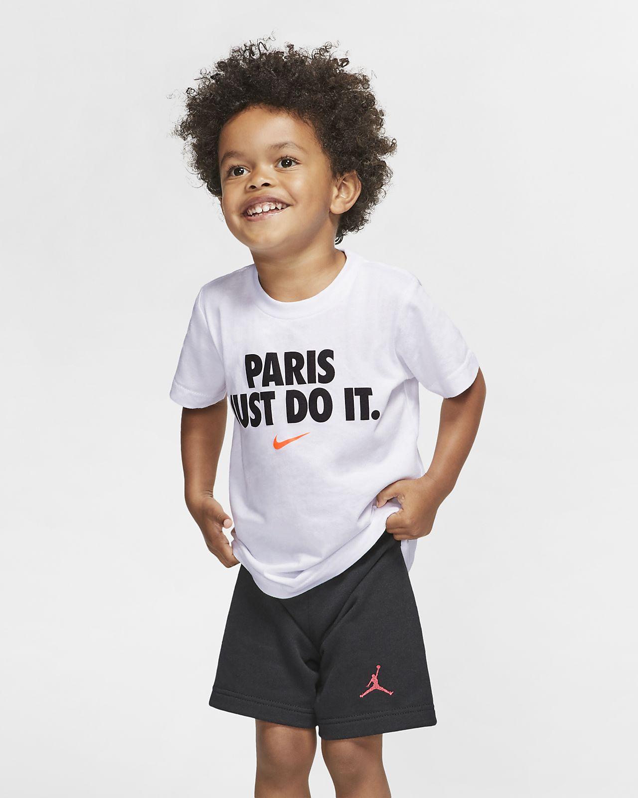 T-shirt dla niemowląt JDI Nike
