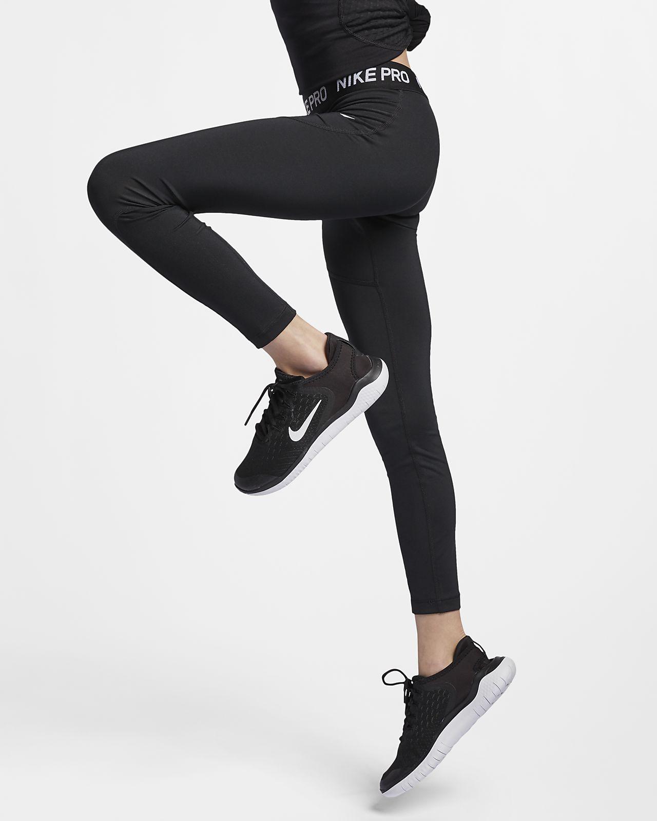 Legíny Nike Pro pro větší děti (dívky)