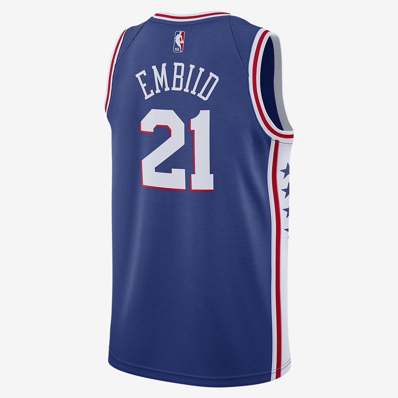 Joel Embiid 76ers Icon Edition Nike NBA