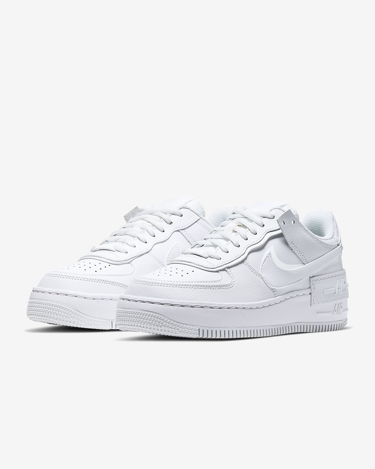 nike air force 1 shadow donna bianche e nere