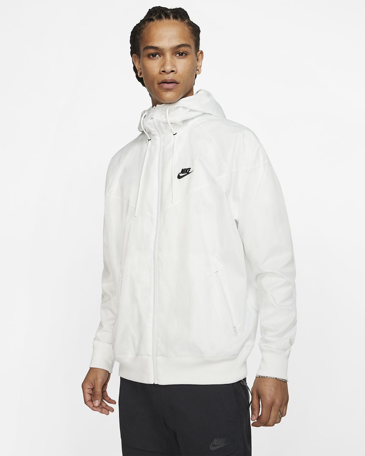 Nike Sportswear Windrunner White | GetInspired.no