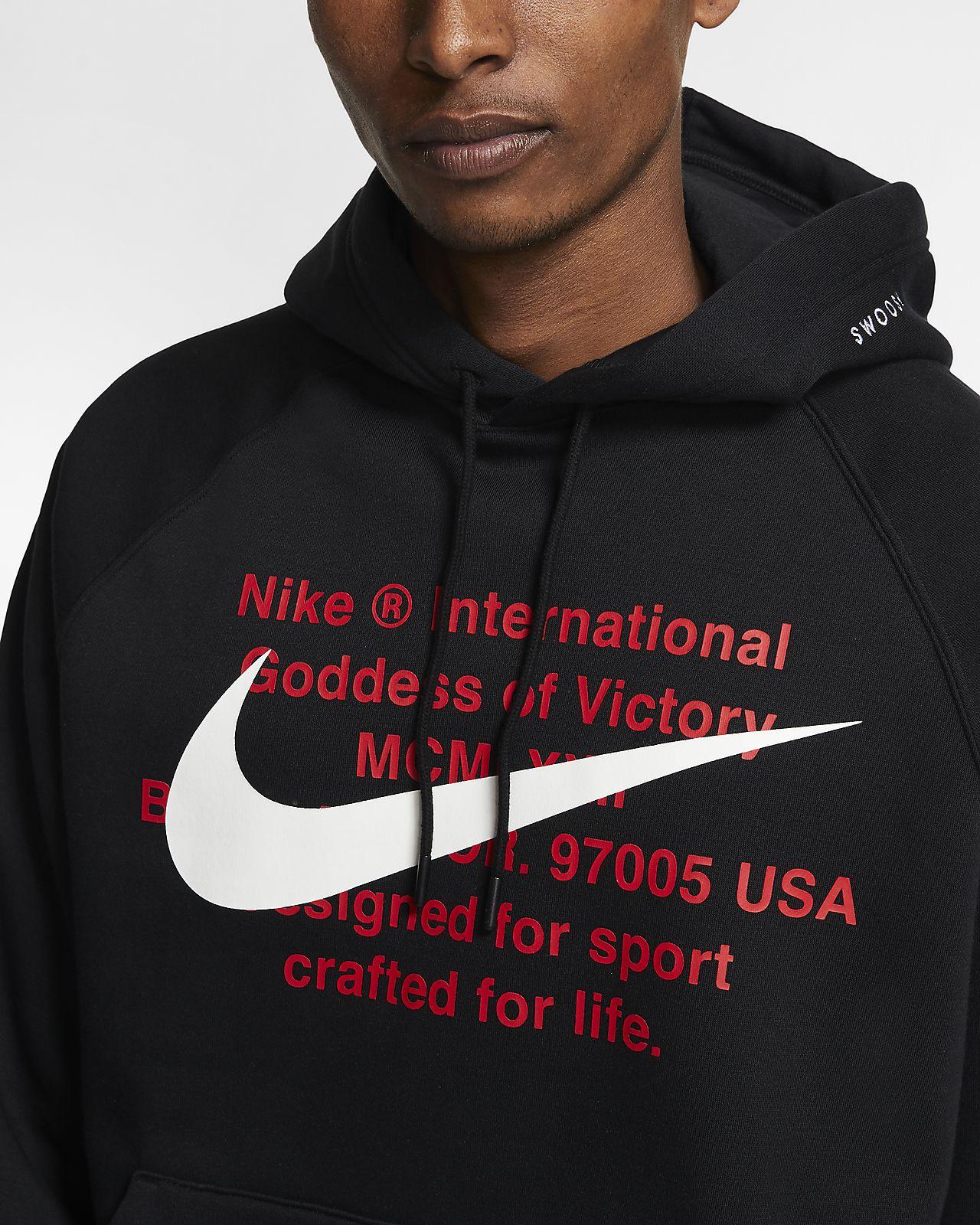 felpa nike sportswear swoosh hoodie