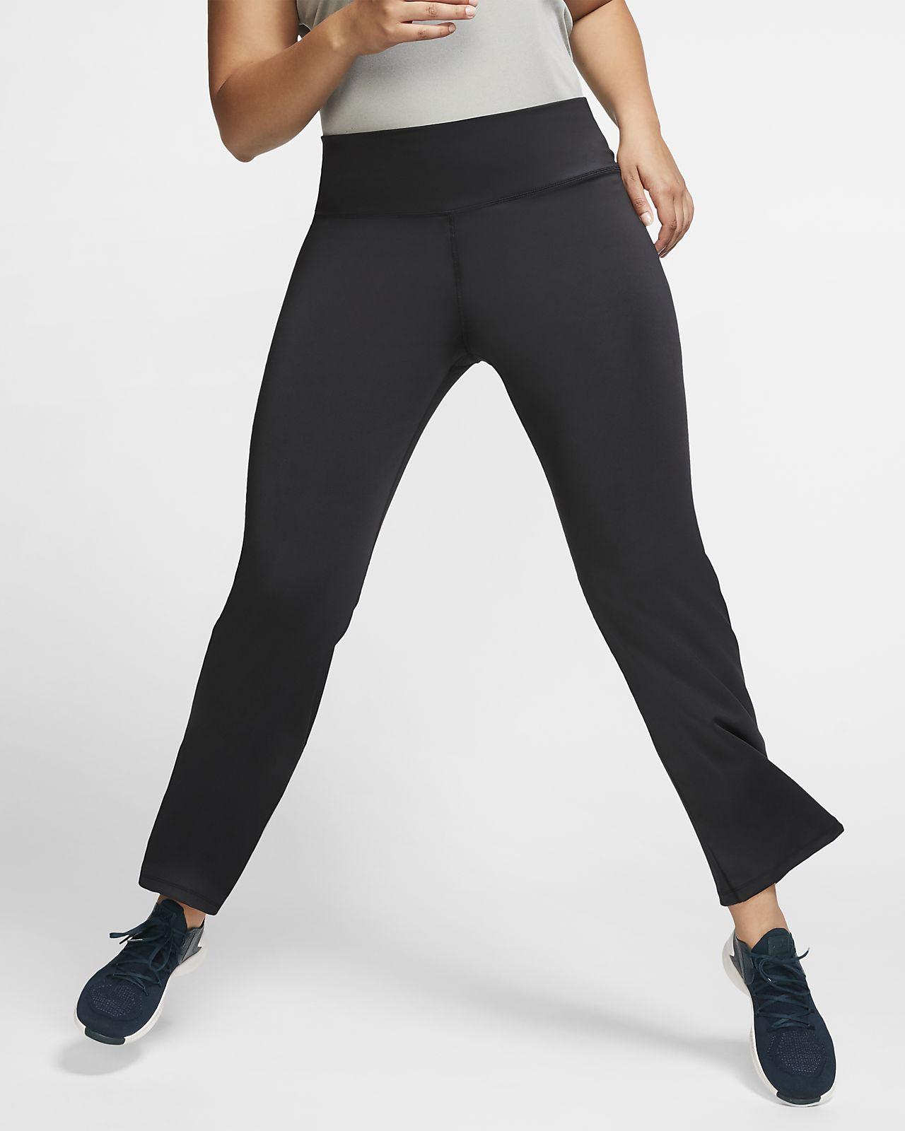 Damskie spodnie treningowe Nike Power (duże rozmiary)