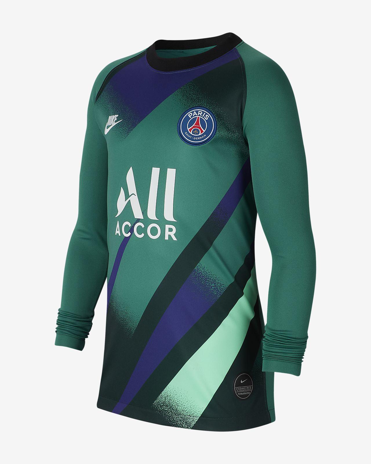 Fotbollströja Paris Saint-Germain 2019/20 Stadium Goalkeeper Third för ungdom