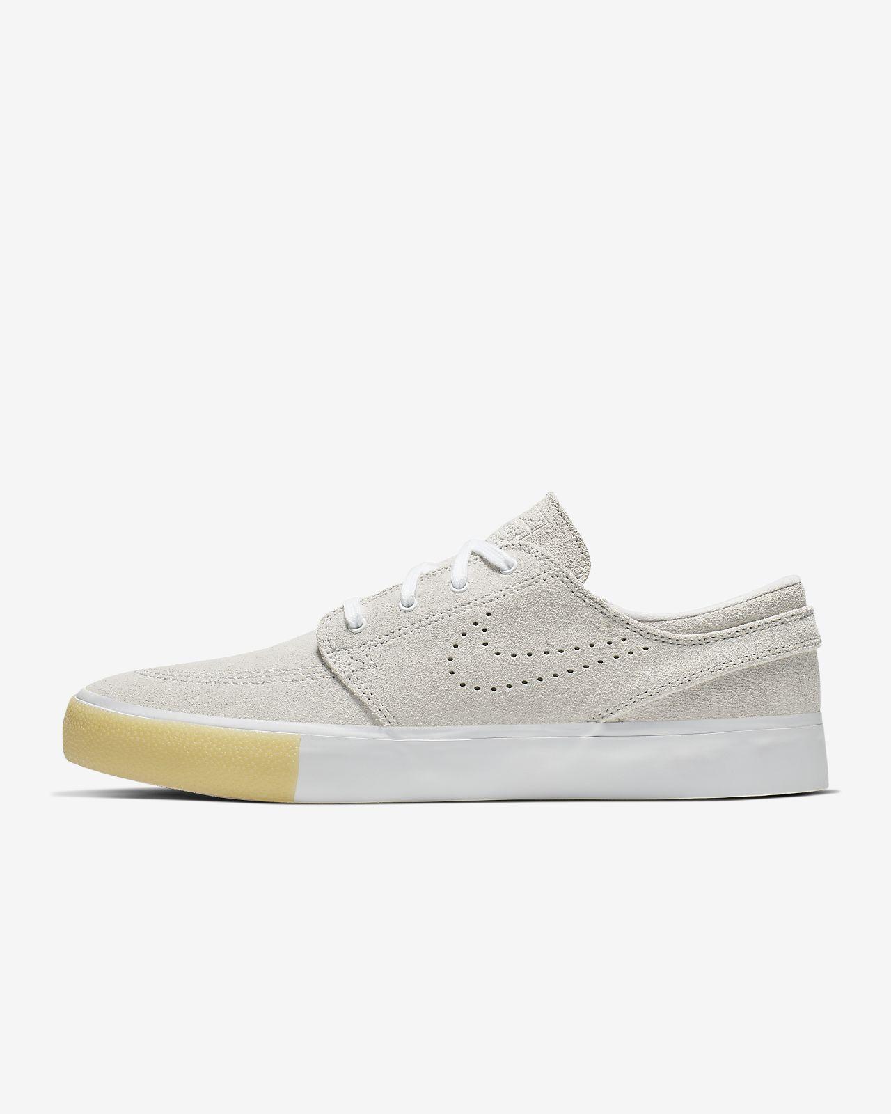 Nike SB Stefan Janoski shoes beige brown