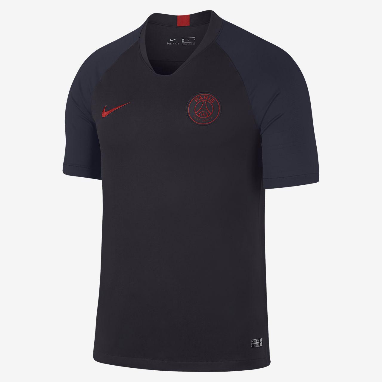 Distribución Quizás agencia  Nike Breathe Paris Saint-Germain Strike Men's Short-Sleeve Football Top.  Nike NZ