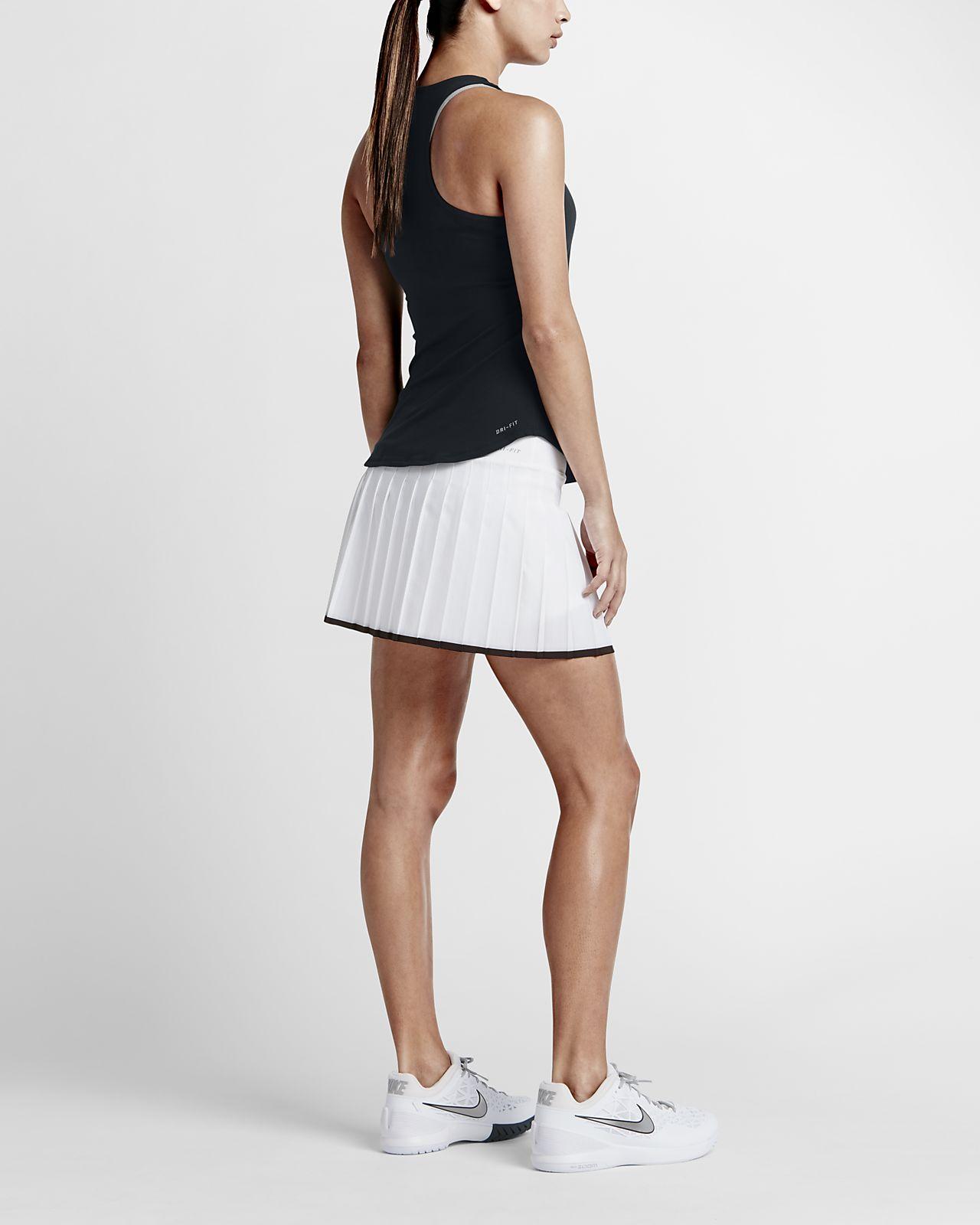 NikeCourt Team Pure Tennistanktop dames
