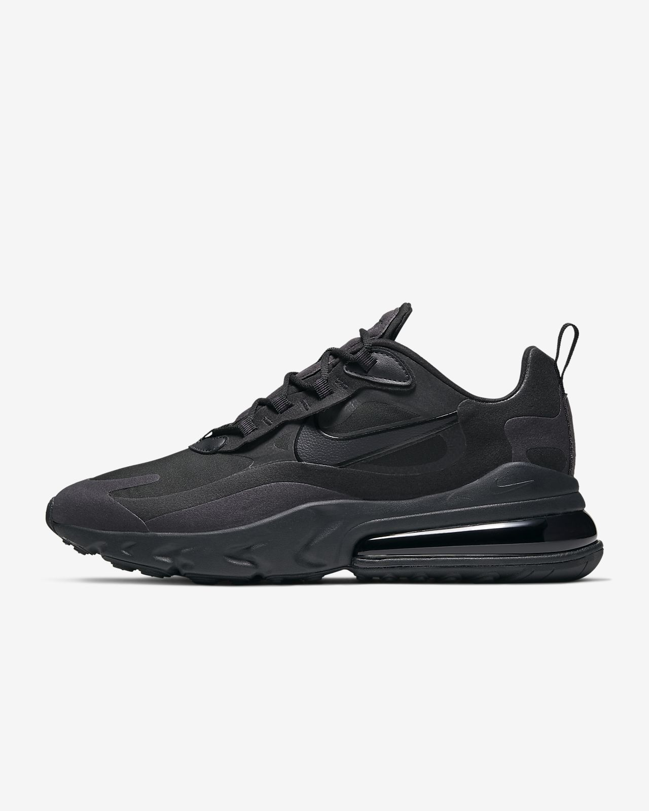 air max 270 react uomo nere