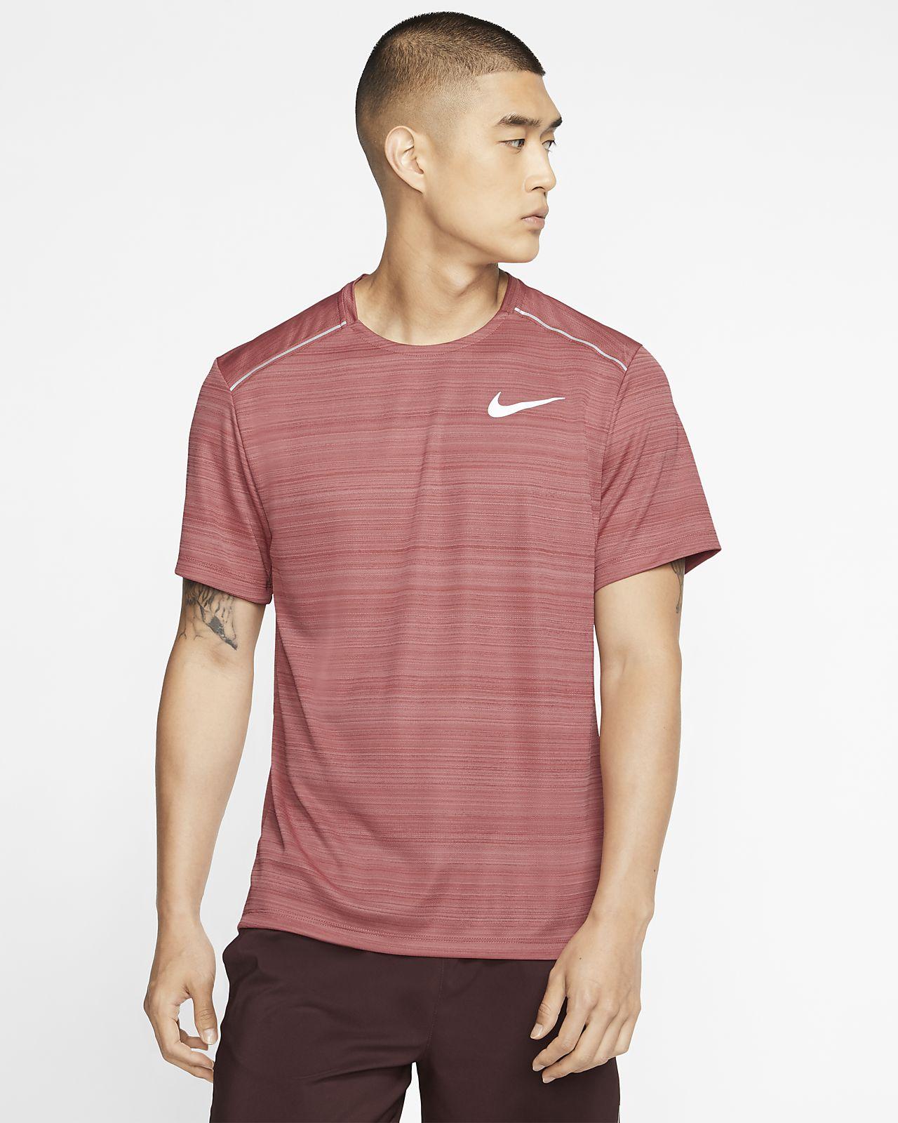 Nike Dri FIT Miler Camiseta de running de manga corta Hombre