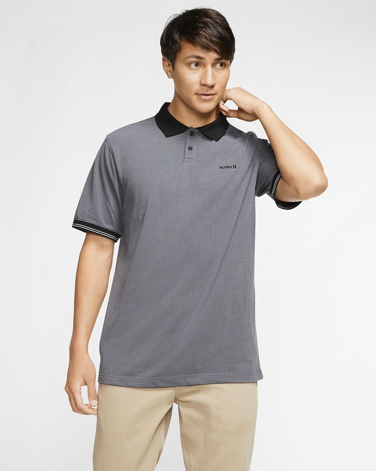 Nike Mens Collar Neck Short Sleeve Polo Shirt New