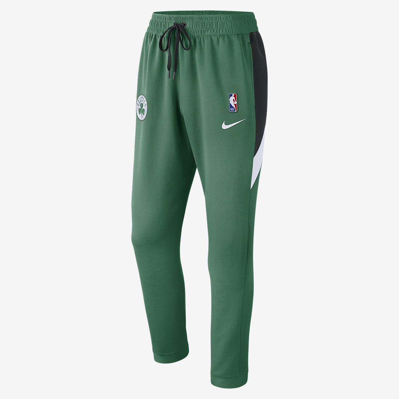 Pantalones de la NBA para hombre Boston Celtics Nike Therma Flex Showtime