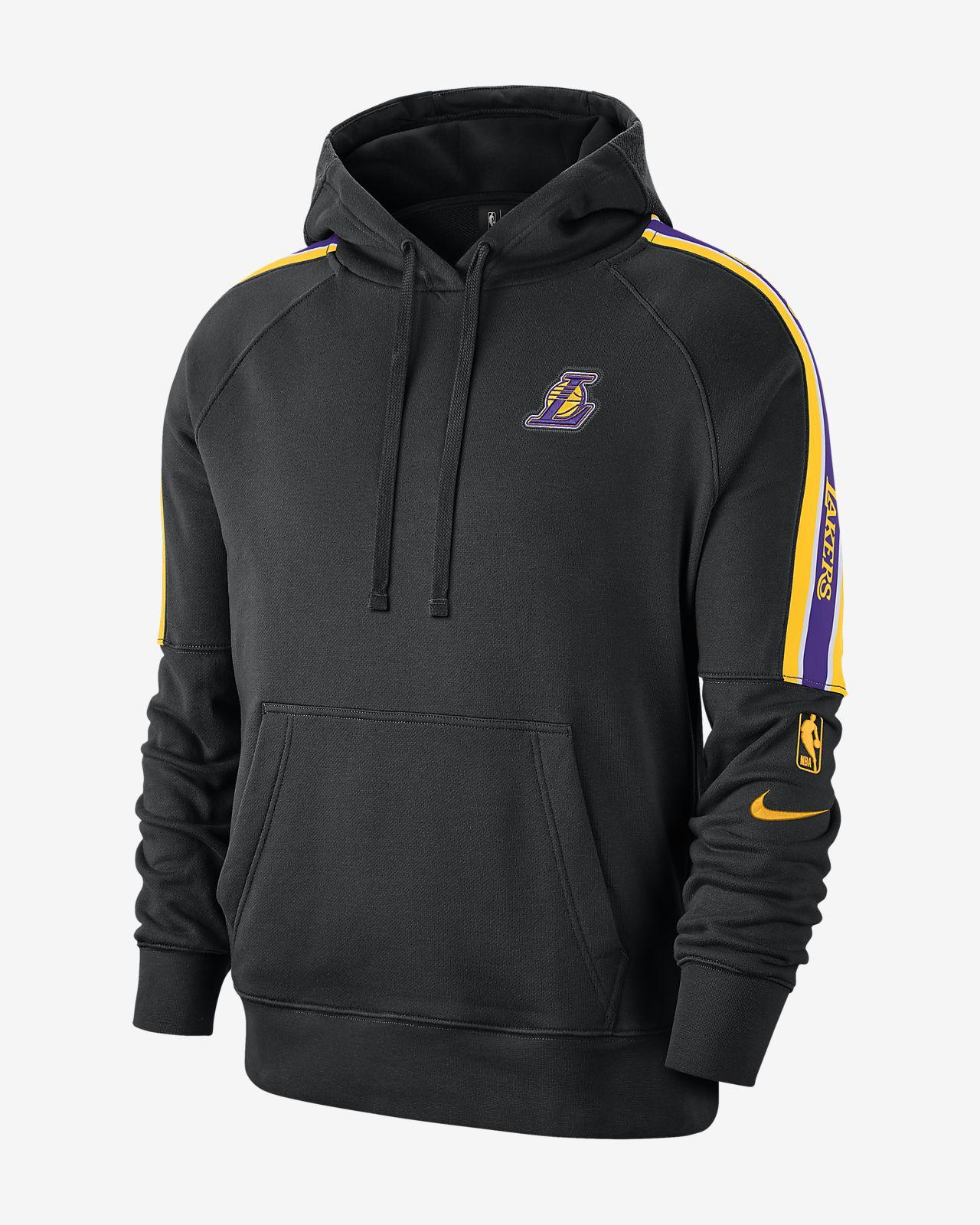 洛杉矶湖人队 Courtside Nike NBA 男子连帽衫