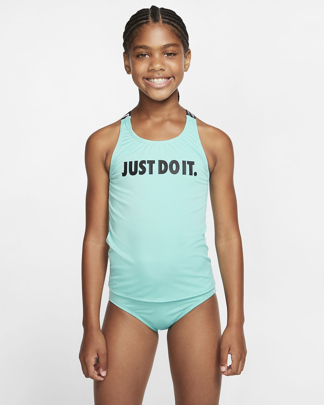 Nike Crossback Tankini Big Kids' (Girls') Swimsuit