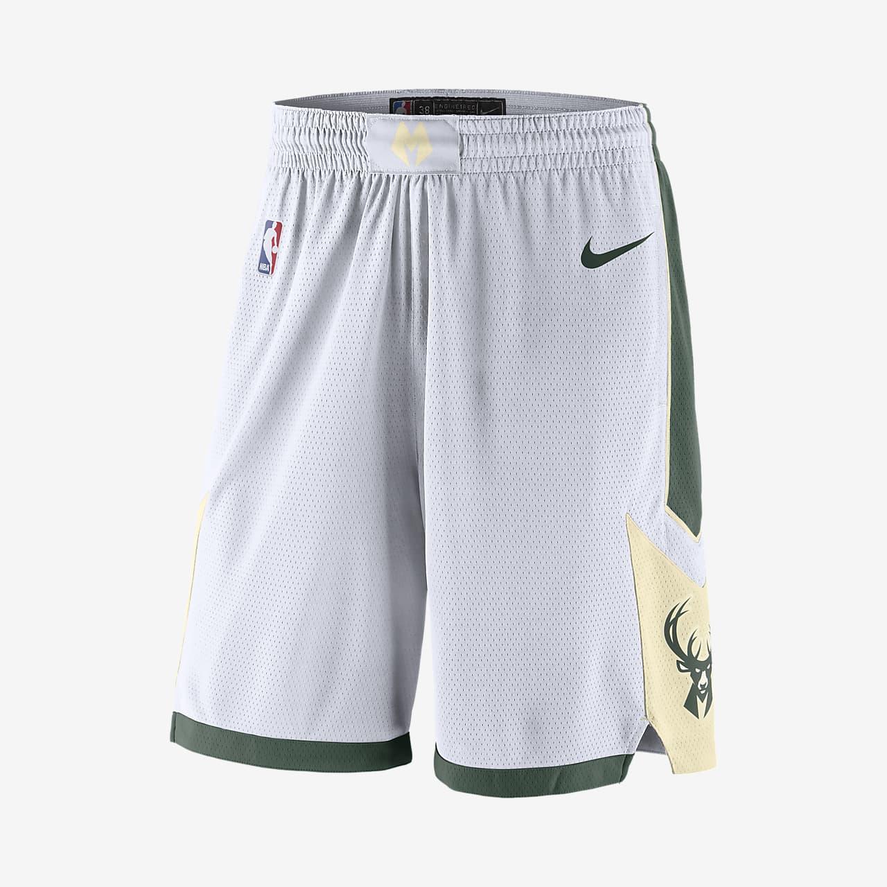 Calções NBA Nike Swingman Milwaukee Bucks para homem