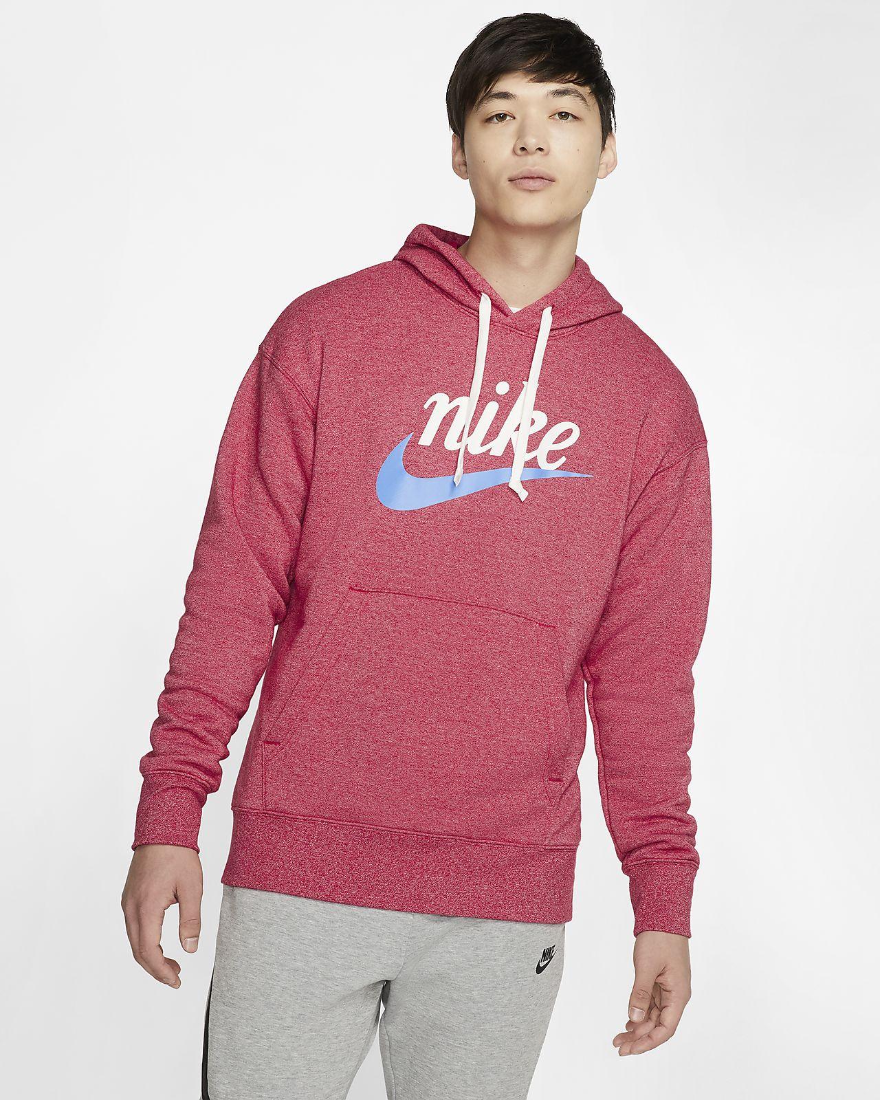 Nike Sportswear Heritage Men's Graphic Pullover Hoodie