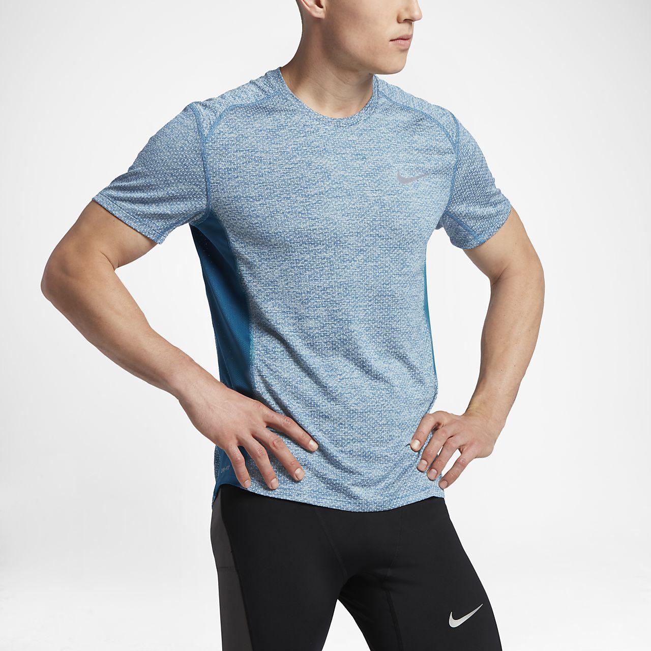 Nike Breathe Miler Cool Men's Short-Sleeve Running Top