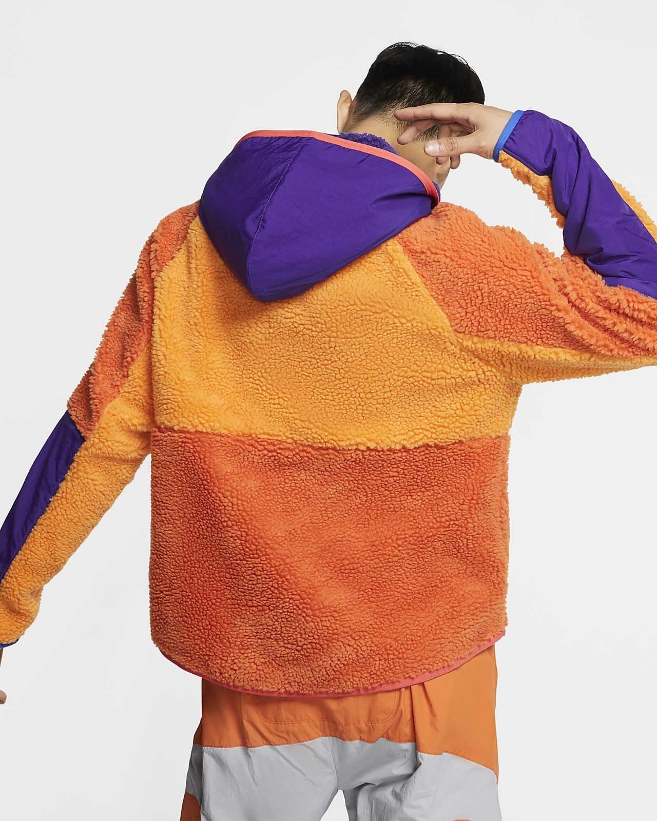 M 1//2 Zip Men/'s Jacket For All Sports Black Nike Club Fleece Medium