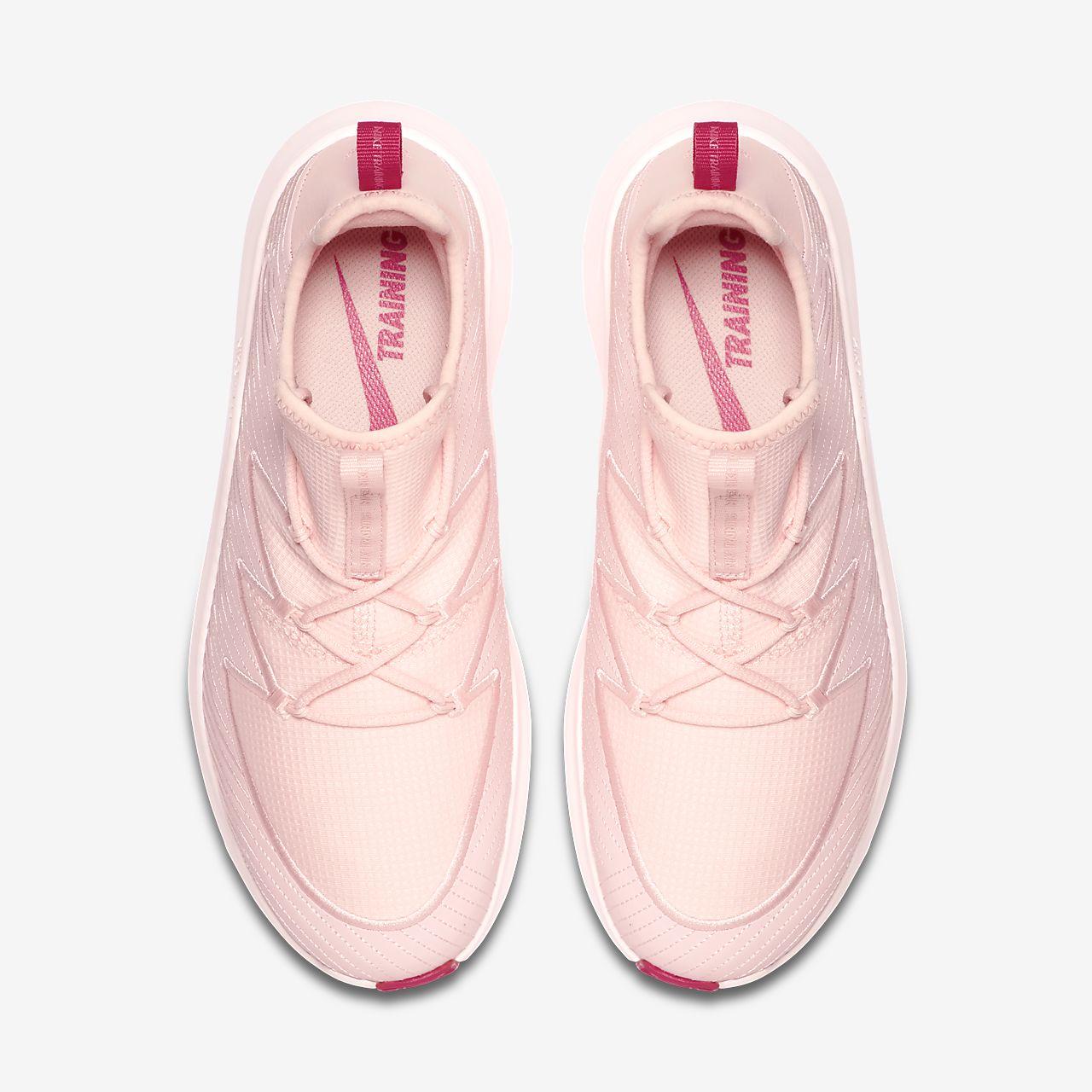 Nike Women's Free TR 8 Training Shoes PinkWhite