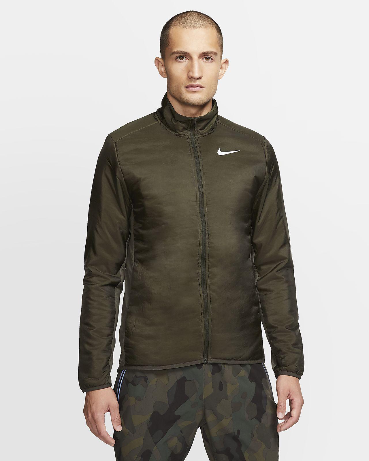 sopa Premedicación Provisional  Nike AeroLayer Men's Running Jacket. Nike CA
