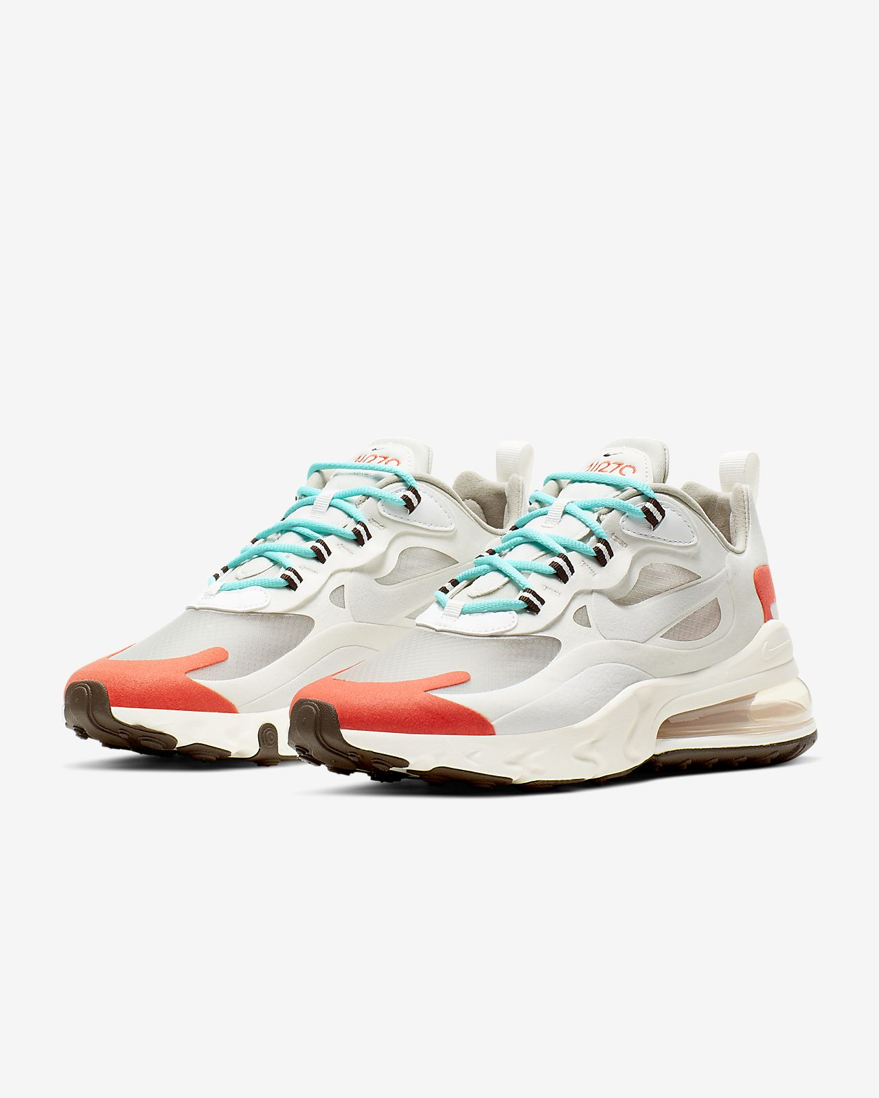 nike air max 270 react beige red