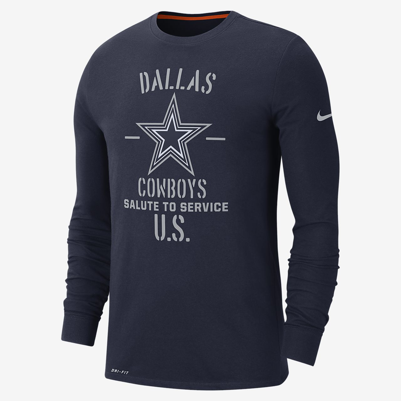 NFL Cowboys) Men's Long-Sleeve T-Shirt