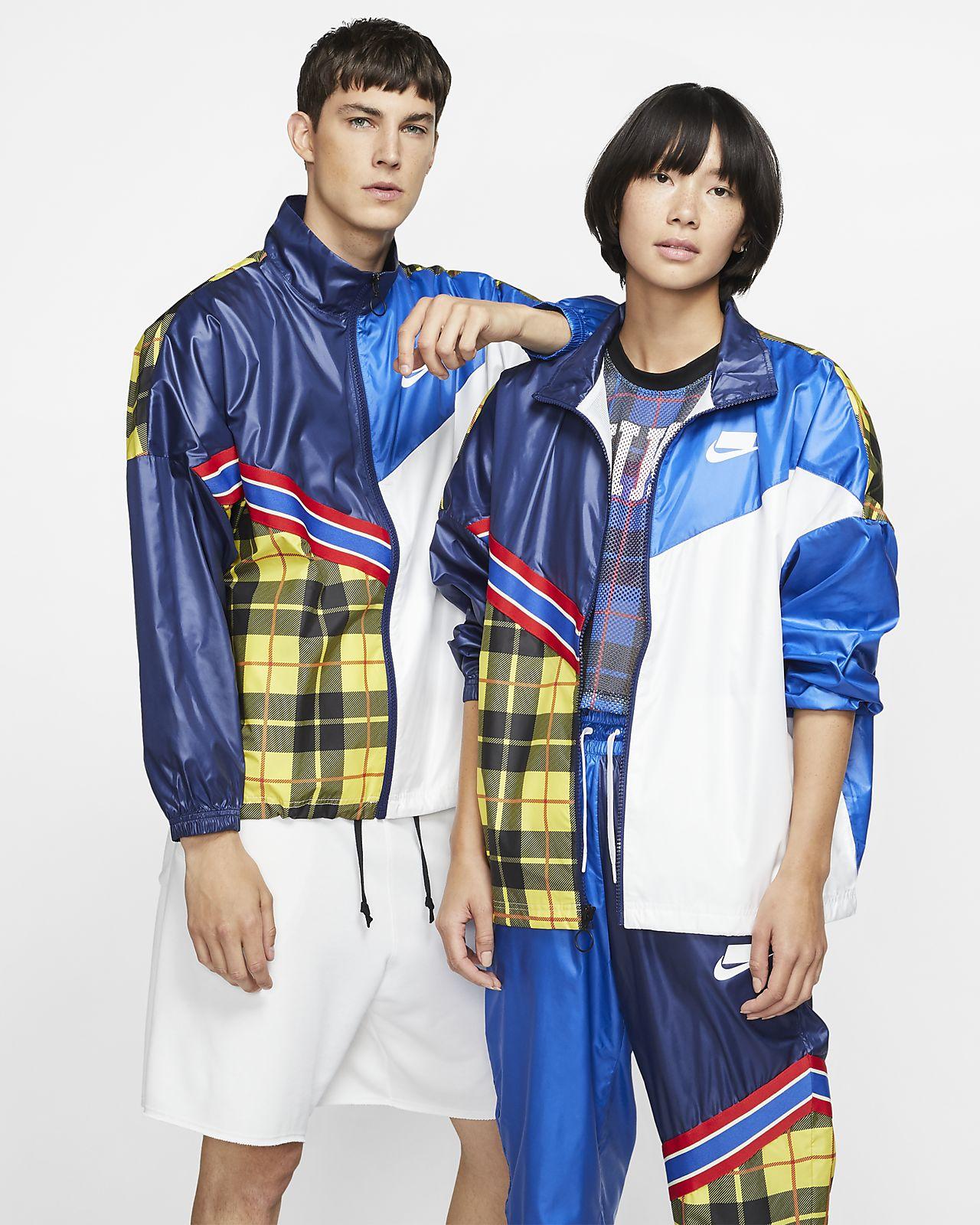 Nike Men's Plaid Jacket.