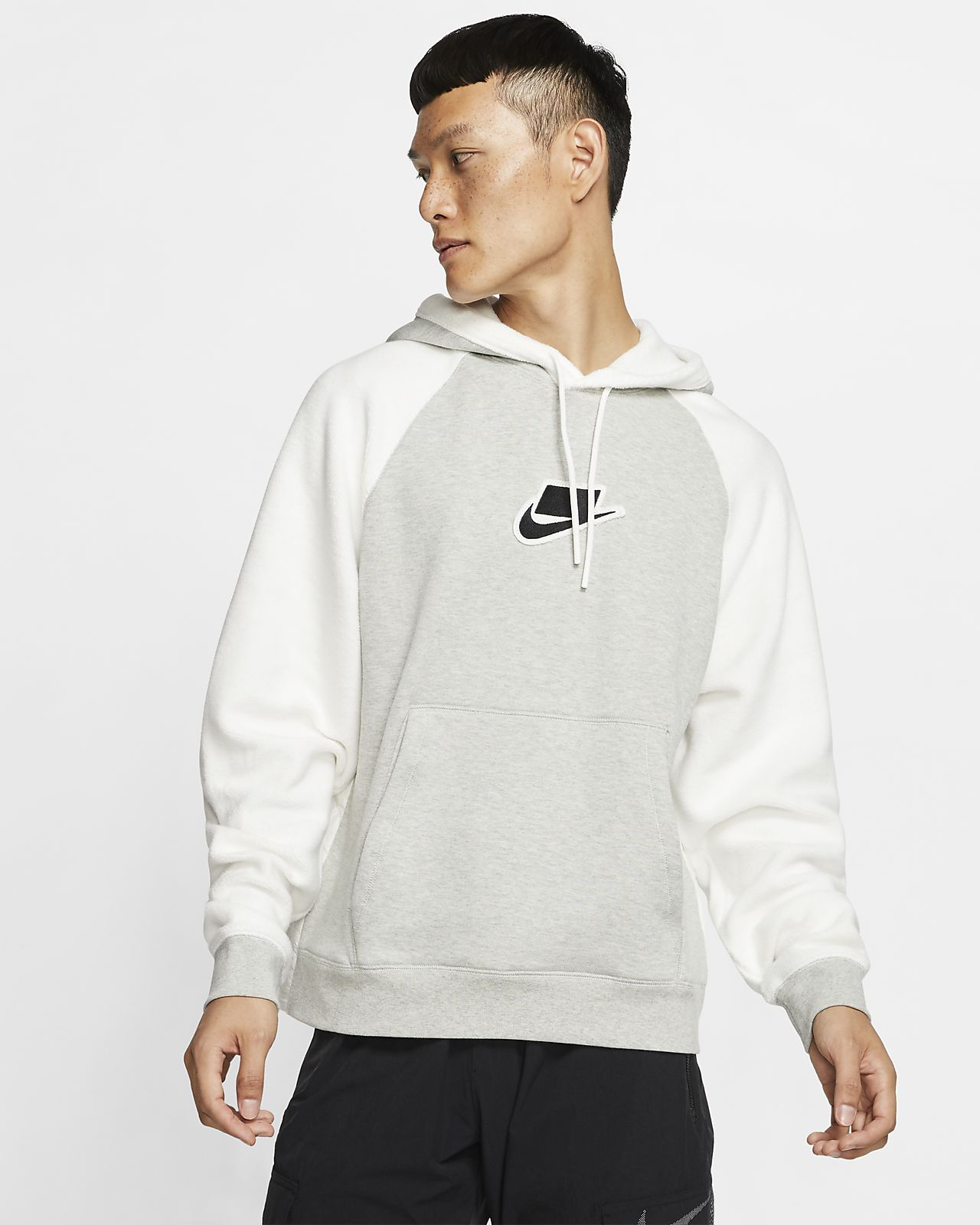 Nike Sportswear NSW pullover hættetrøje i fleece