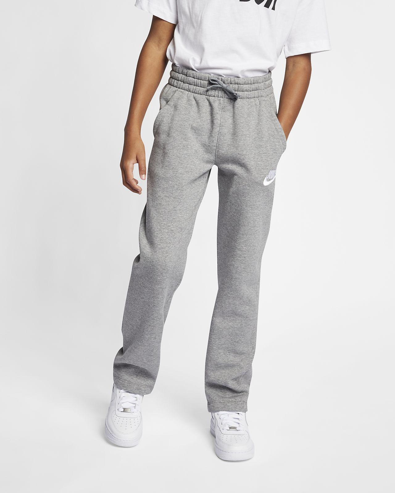 Nike Sportswear Club Fleece Big Kids' (Boys') Open-Hem Pants
