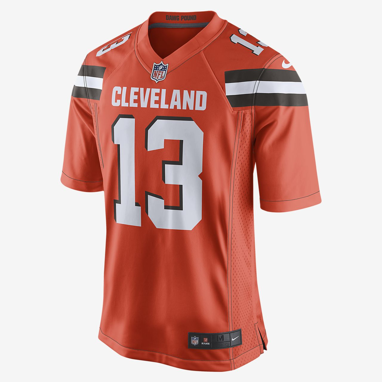 cleveland browns nike shirt