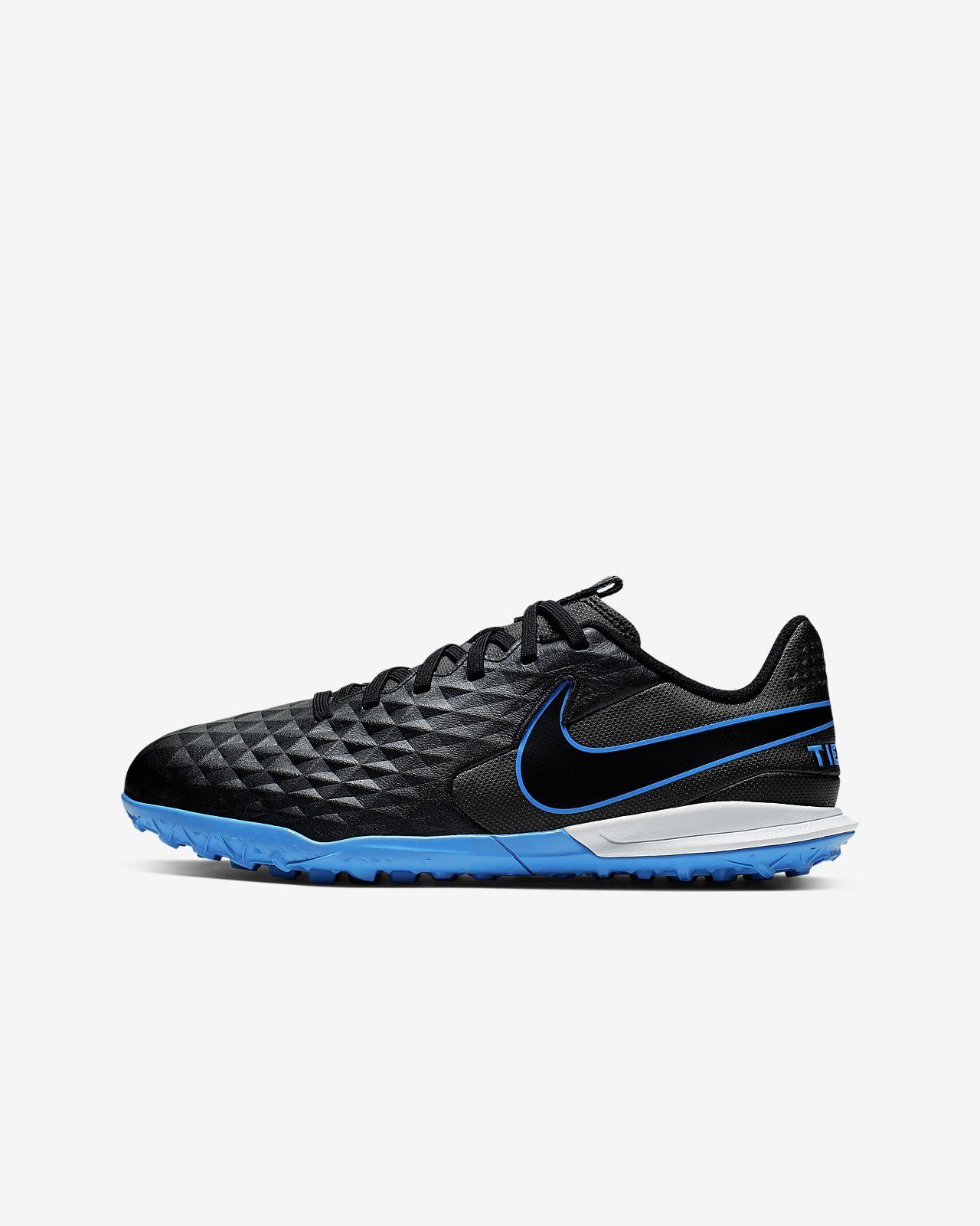 Nike Jr. Tiempo Legend 8 Academy TF Little/Big Kids' Artificial-Turf Soccer Shoe