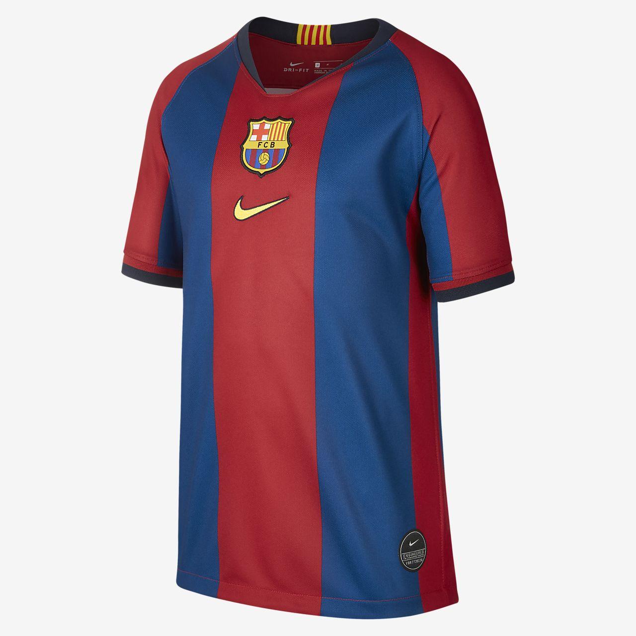 FC Barcelona Stadium '98/99 Older Kids' Football Shirt