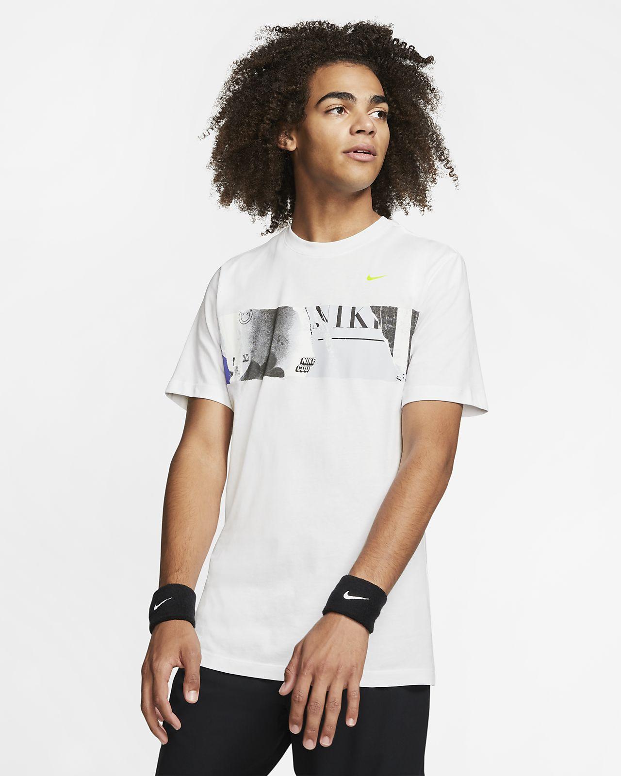 Playera de tenis estampada para hombre NikeCourt