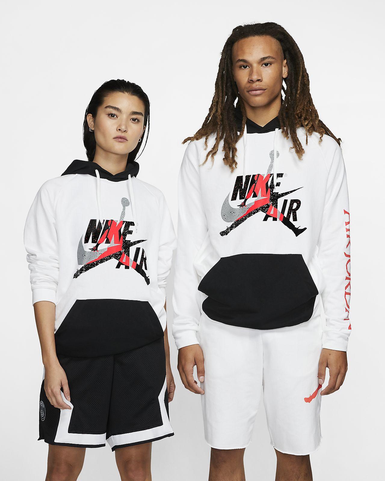 Felpa pullover leggera in fleece Jordan Jumpman Classics