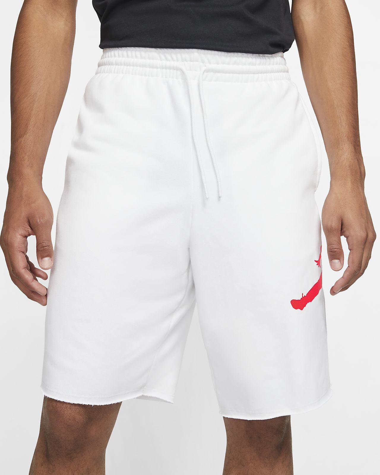 กางเกงขาสั้นผ้าฟลีซผู้ชาย Jordan Jumpman Logo