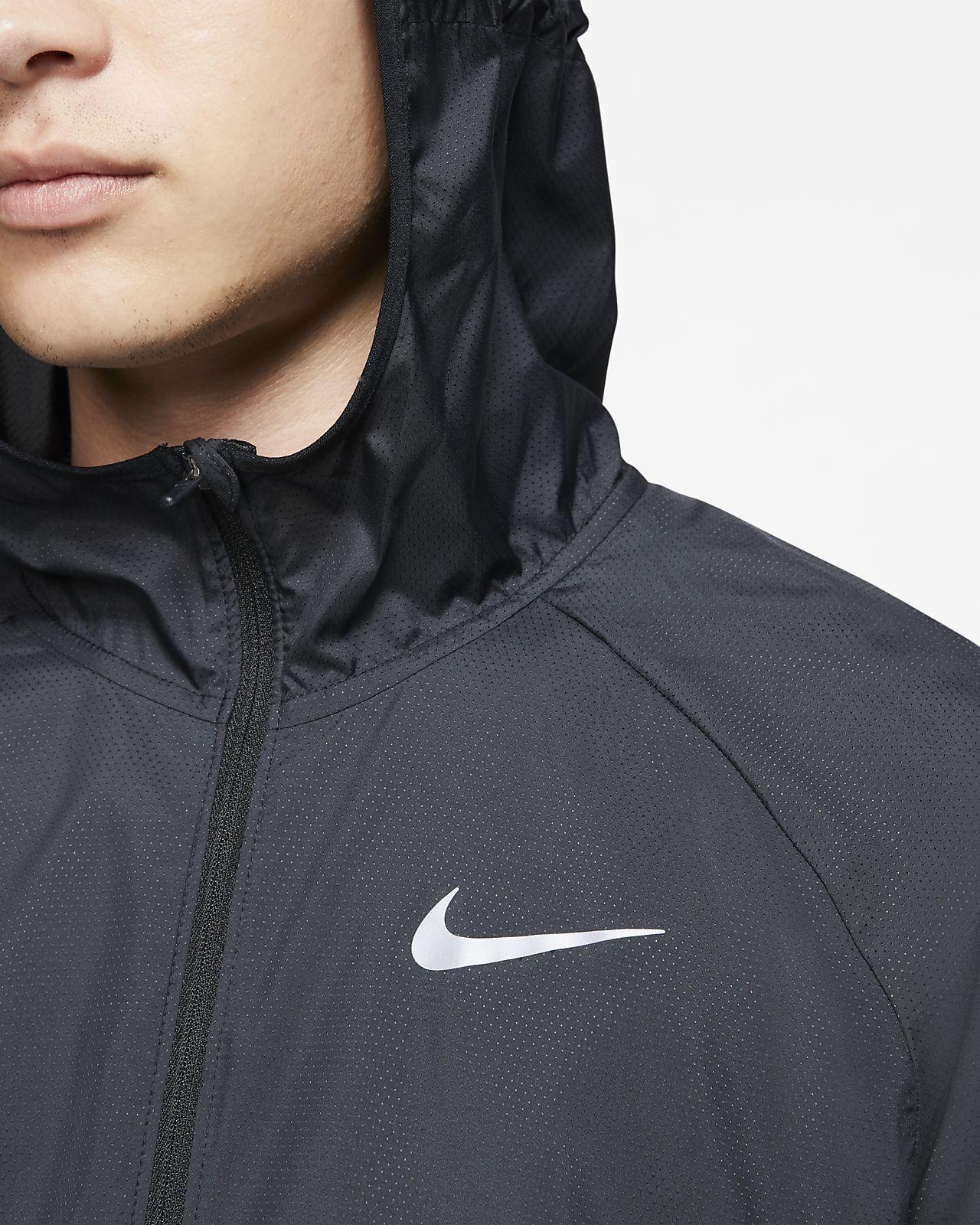 Veste de running à capuche Nike Essential pour Homme