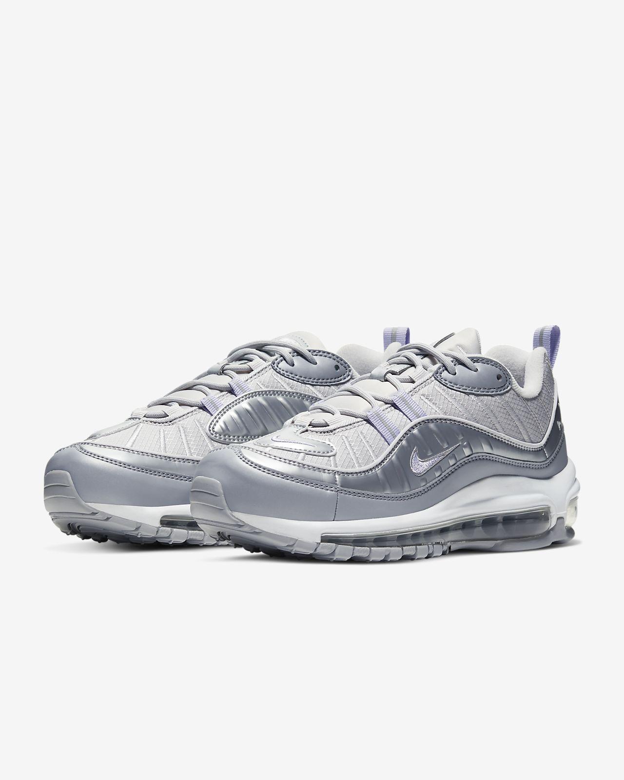 Nike Air Max 98 shoes white purple