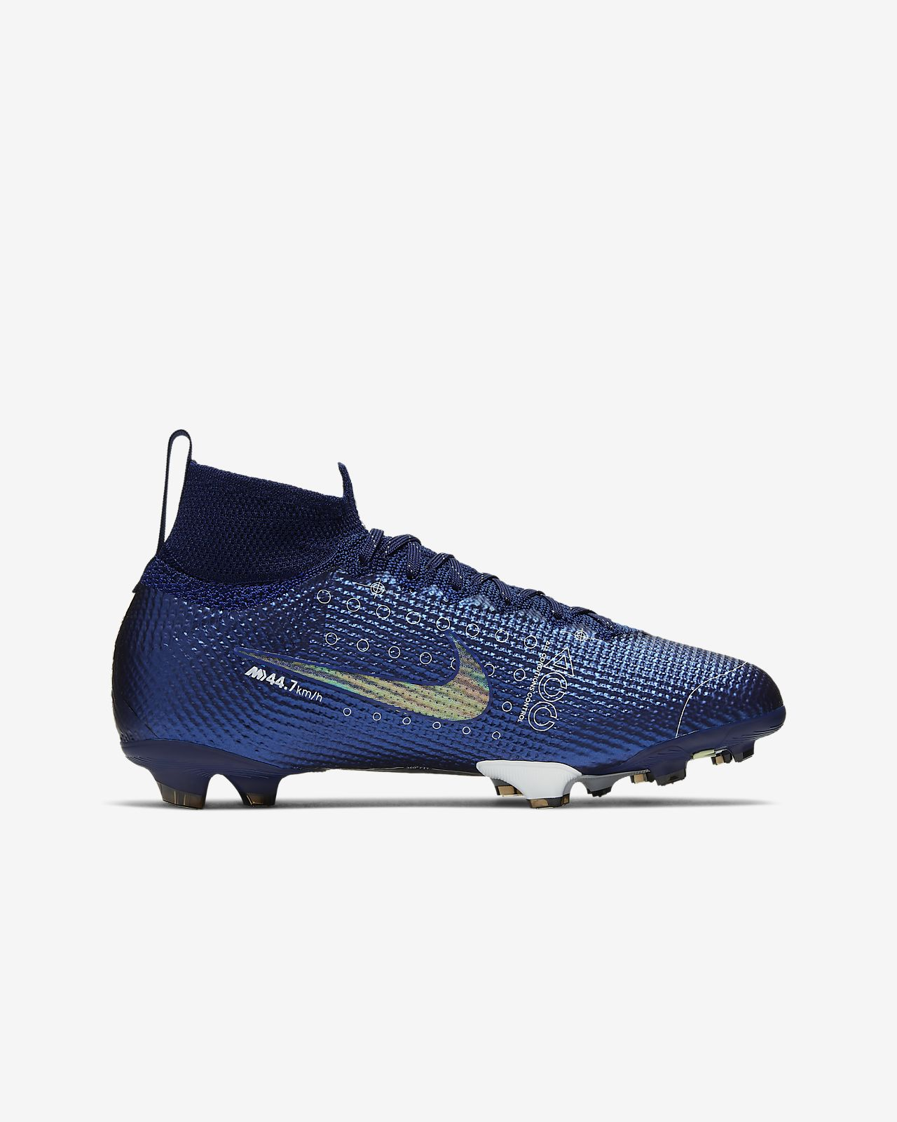 Nike Mercurial Superfly 6 Club FG Firm Ground Soccer Cleats (Glacier BlueBlack)