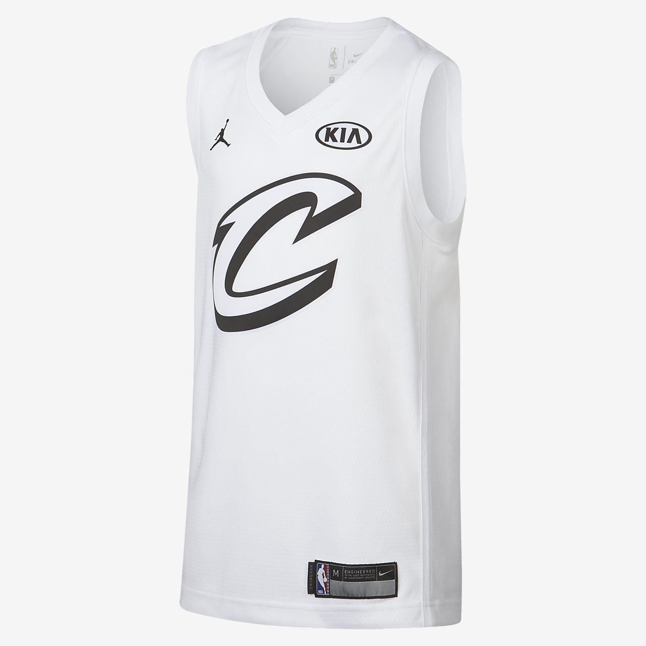 LeBron James All-Star Edition Swingman Jersey Jordan NBA Connected Trikot für ältere Kinder
