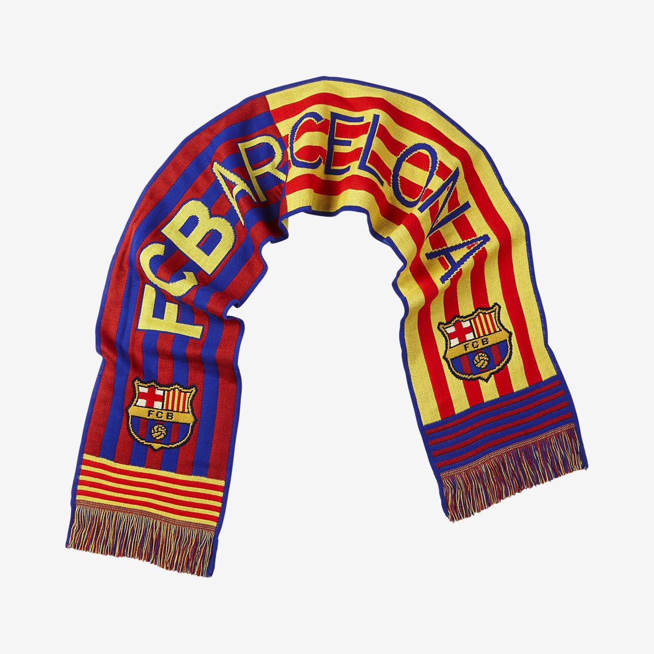Fc Barcelona Flag Scarf Nike Gb