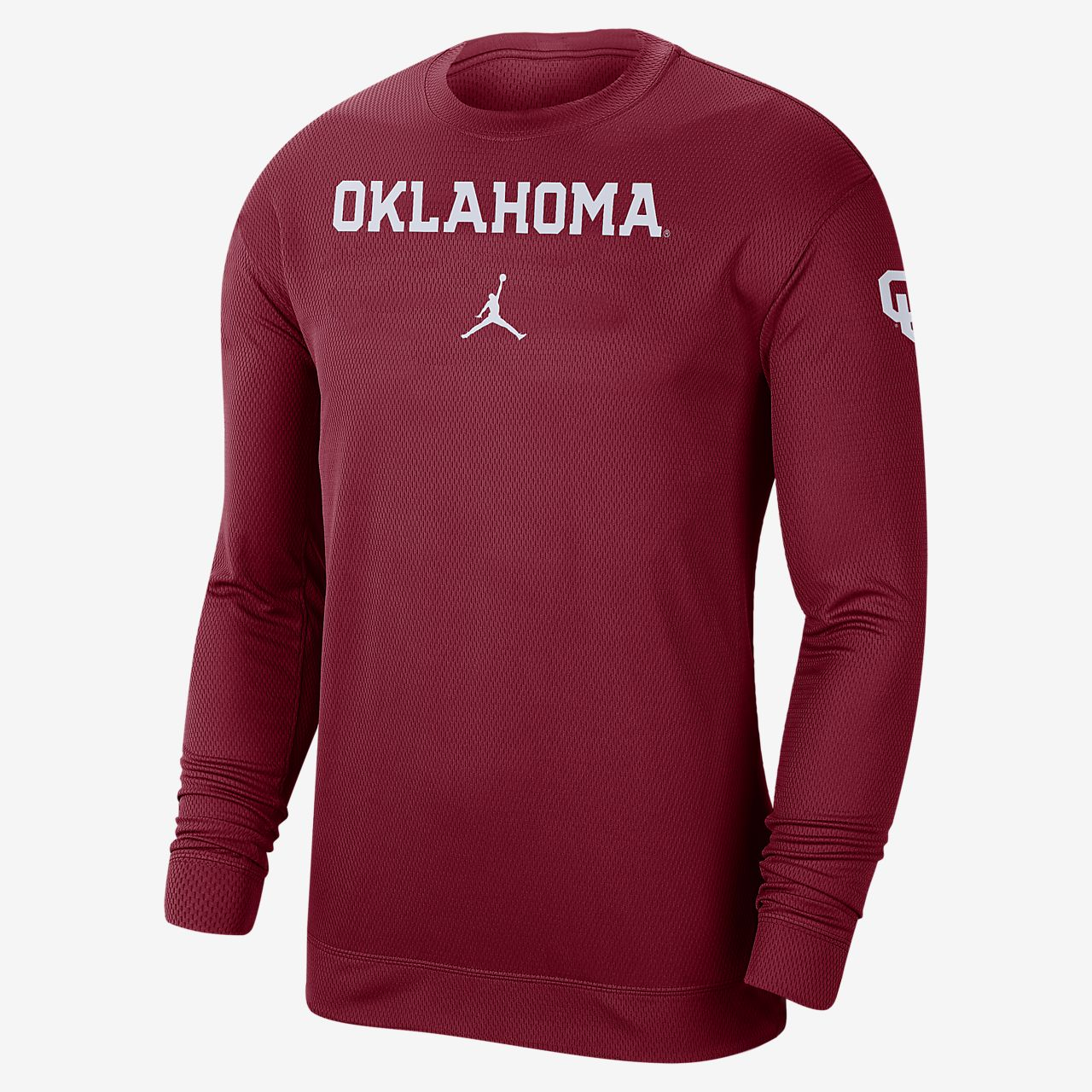Jordan College Dri-FIT Spotlight (Oklahoma) Men's Long-Sleeve Top